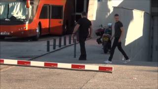 Liam Payne outside the arena in Lisbon, 26th May 2013 (Portugal) HD