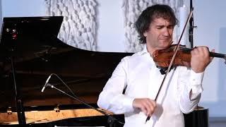 """Piazzolla """"Cafe 1930"""" - Robert Dumitrescu - Stradivari, Claire Pasquier - Fazioli 278 #livestream"""
