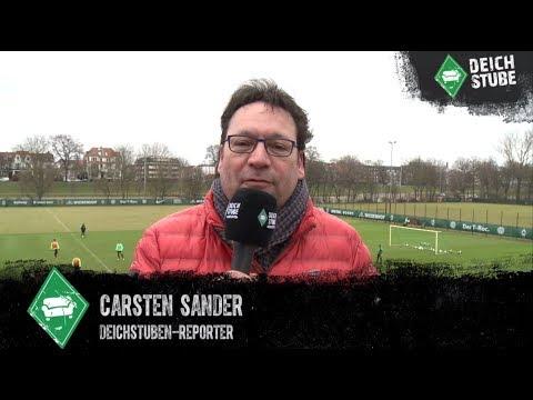 Das Werder-Abschlusstrainings-Video mit Fritz, aber ohne Veljkovic
