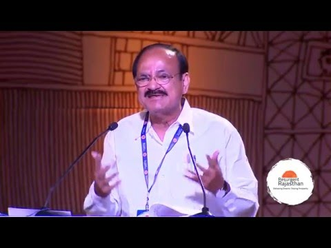 Venkaiah Naidu on Rajasthan's urban development