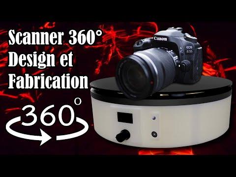 Scanner 360° Automatique - Ep 2 - Conception et Fabrication