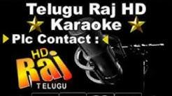Ye Cheekati Cheripeyani Kalale Karaoke Telugu Song By Happy Days {2007}