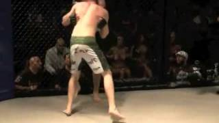Cage Combat 1 - Fight 4 ( LeviWest - vs - CharleyWitbeck )