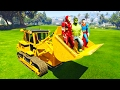 SuperHeroes in DOZER! Funny Cartoons for kids and babies, Nursery Rhymes 3D!
