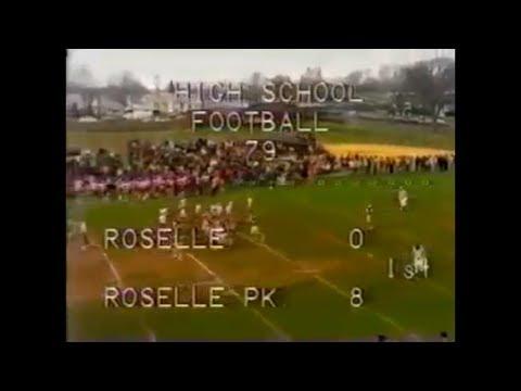 1979 Roselle Park High School vs Roselle High School Football Game