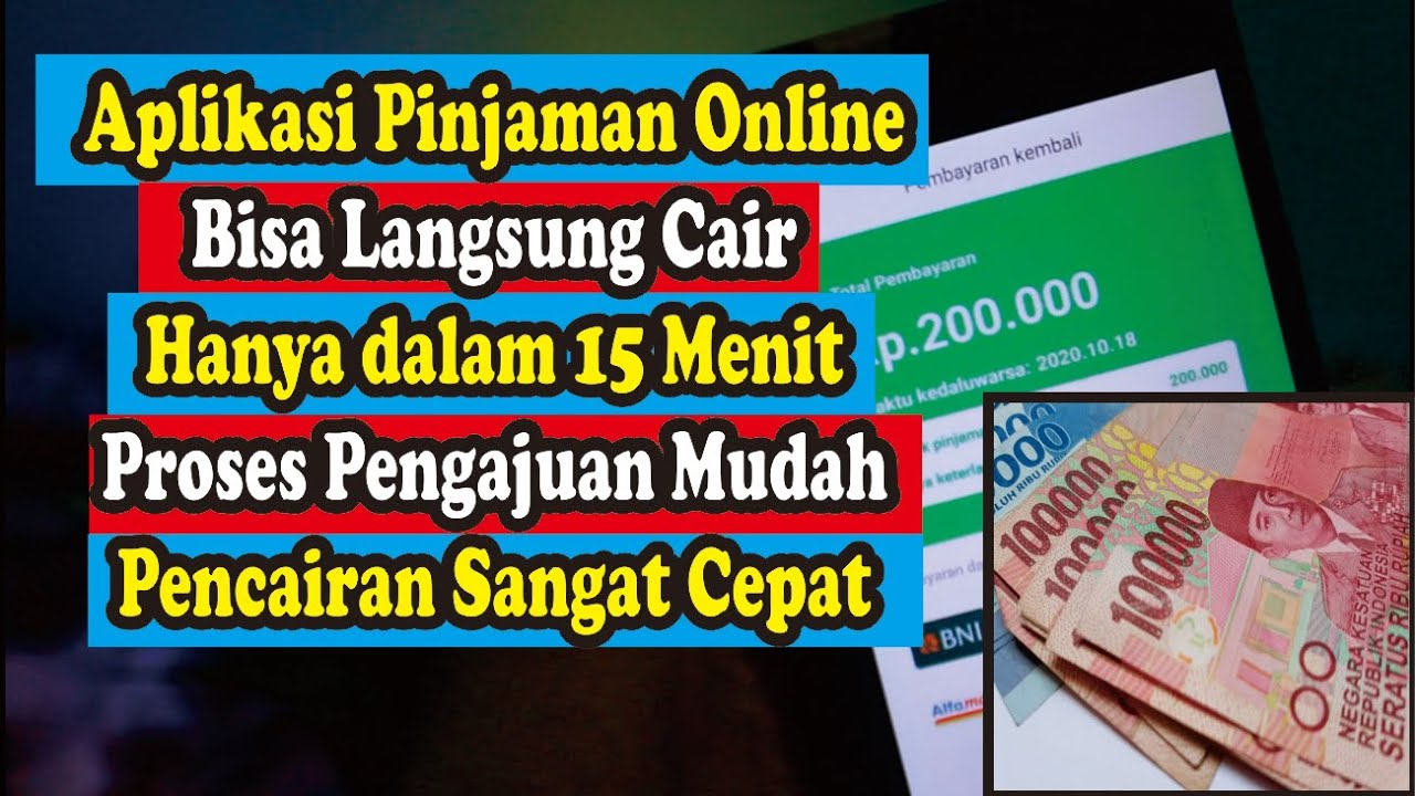 Aplikasi Pinjaman Online Langsung Cair Hanya Gunakan KTP ...