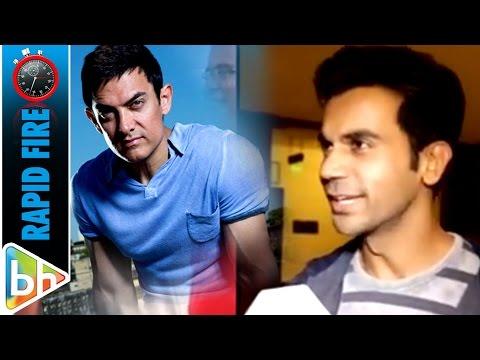Rajkummar Rao | Behen Hogi Teri | Full Interview | Rapid Fire | Aamir Khan