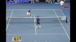 لقطات طريفة جدا  بين لاعبي تنس في بطولة أستراليا