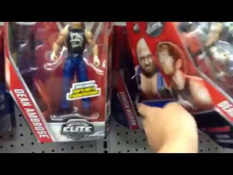 WWE Walmart And Toys R Us Toy Hunt