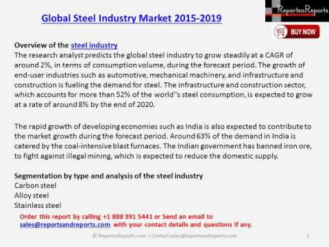 Global Steel Industry Market 2015 – 2019