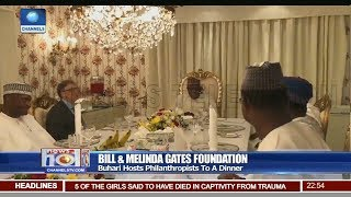 Buhari Hosts Philanthropists To A Dinner Pt.4 |News@10| 21/03/18