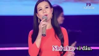 KARAOKE LƯU BÚT NGÀY XANH (BEAT GỐC)- Dương Hồng Loan
