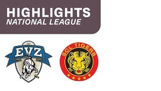 EV Zug vs. SCL Tigers 4:2 - Highlights National League