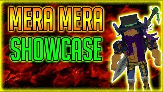 MERA MERA NO MI | ONE PIECE DESTINY | Roblox | OPD Devilfruit Showcase