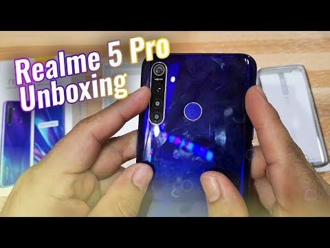 Realme 5 Pro Unboxing