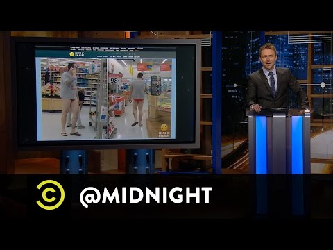 Michelle Beadle, Rick Glassman, Brent Morin  Wanna Cyber?  @midnight with Chris Hardwick
