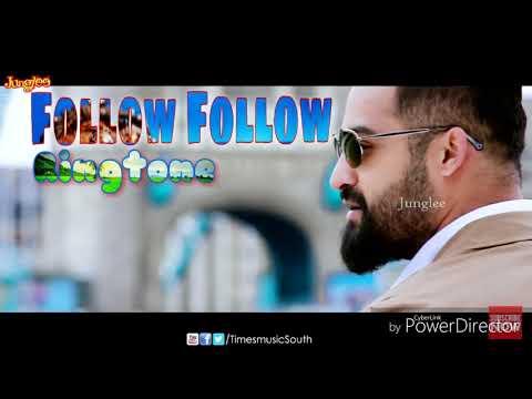 Follow Follow - New telugu song ringtone - Film - ( Nannaku prematho )