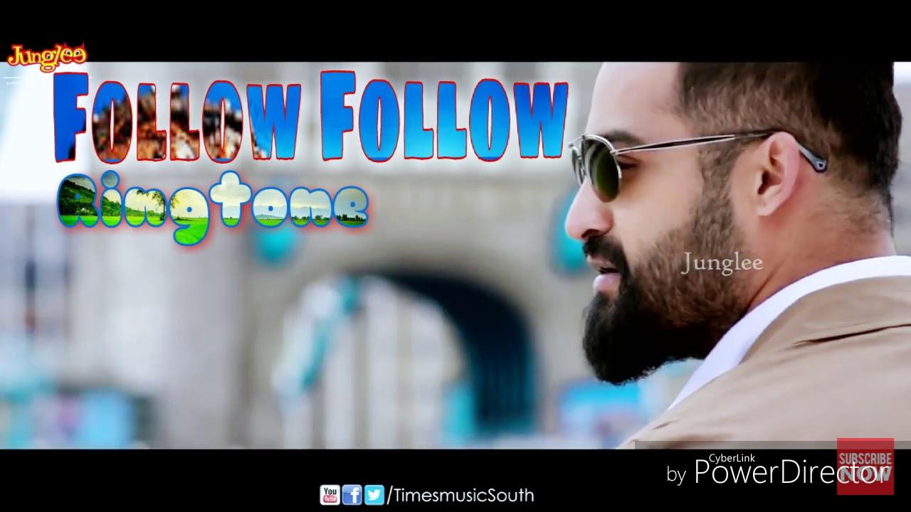 follow follow - new telugu song ringtone - film - ( nannaku prematho