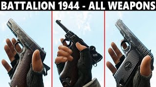 BATTALION 1944 - ALL WEAPONS