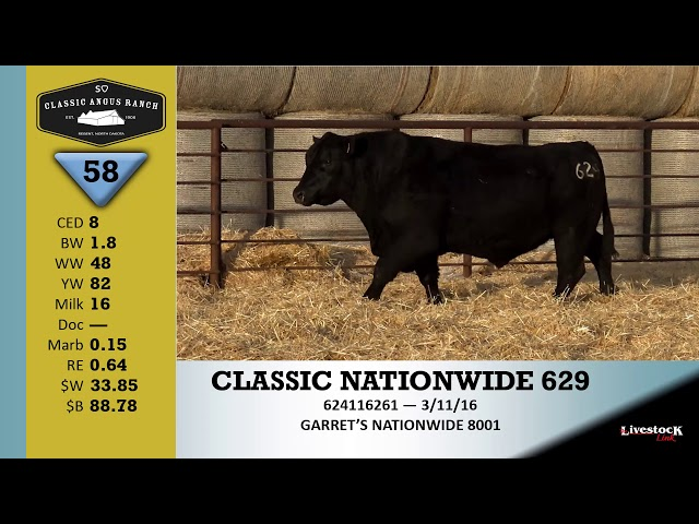 Classic Angus Ranch Lot 58