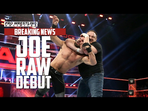 BREAKING NEWS: Samoa Joe Makes His Main Roster Debut On Monday Night RAW