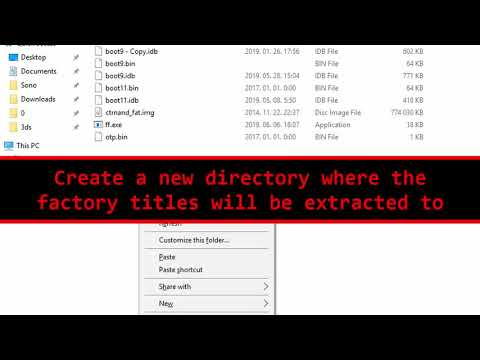 How to dump factory titles (including CTRAging) | GBAtemp net - The