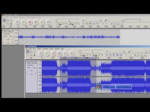 Modificarea melodiilor pe calculator - Program de modificat melodii