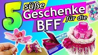 DIESE 5 DIYs WERDEN DEINE BFF ÜBERRASCHEN! | Geschenkideen & Süßigkeiten | schnell & einfach deutsch