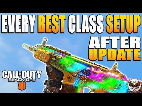 Every Weapon Best Class Setup Update 1.13   CoD BO4 Best Class Setups