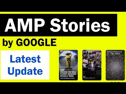 AMP Stories - Google Accelerated Mobile Pages in SERP