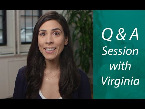 Q & A Session with Virginia #2