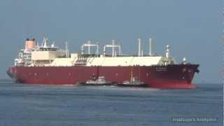 AL BAHIYA LNG TANKER SHIP LNGタンカー
