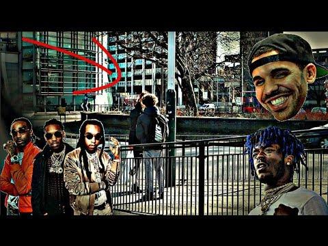 SAYING HILARIOUS SONG LYRICS TO THE PUBLIC PRANK!! FT Drake, Migos, Lil Uzi Vert (Public Trolling)