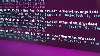 Майнинг ZEC и ETC Linux vs Windows на ASUS ROG-STRIX-GTX1080-A8G-11GBPS и STRIX-GTX1070-8G-GAMING