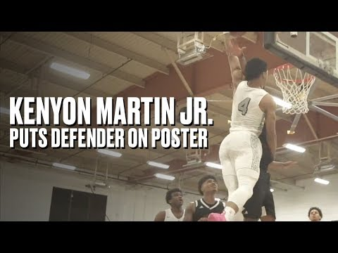 Kenyon Martin Jr. Puts Defender on a POSTER in Sierra Canyon's Playoff Win - Full Game Highlights
