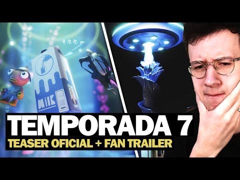 NOVO TEASER + TRAILER DA TEMPORADA 7 DE FÃS! - FORTNITE