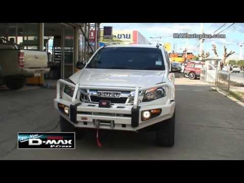 All New ISUZU D-MAX V-Cross 2013 ARB Bumper & WARN Winch
