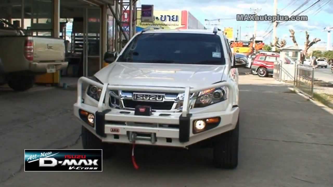 All New Isuzu D Max V Cross 2013 Arb Bumper Amp Warn Winch