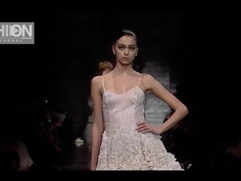 ARMANI PRIVE Spring Summer 2008 Haute Coture - Fashion Channel