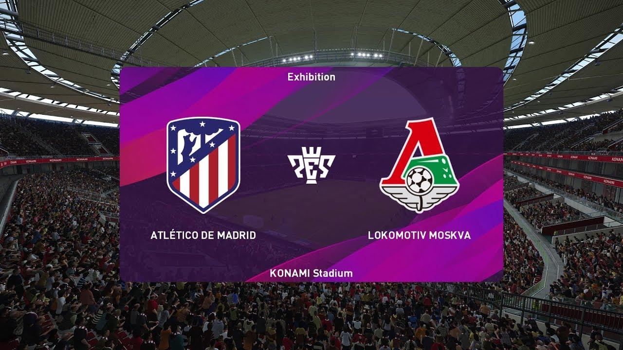 Xem lại Atletico Madrid vs Lokomotiv Moscow,