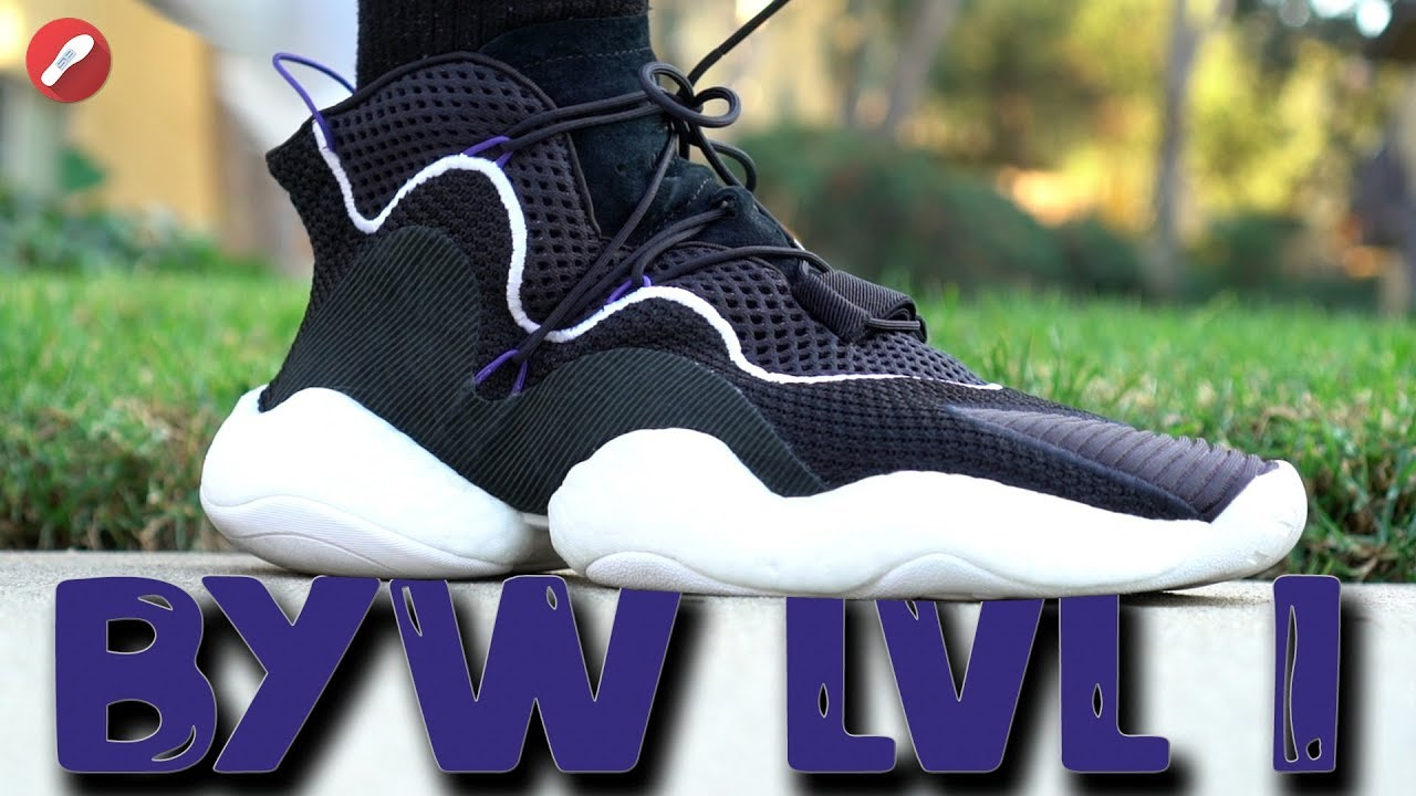 hot sale online 564d1 66228 Adidas Crazy Boost You Wear (BYW) LVL 1 Review! Is It Comfy