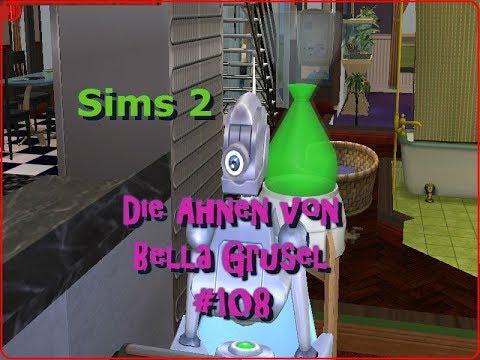 Let´s Play Die Sims 2 ♥ [Die Ahnen von Bella Grusel] #108   Der Servo will ein Techtelmechtel