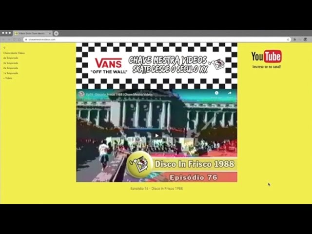 O Site do Chave Mestra Videos