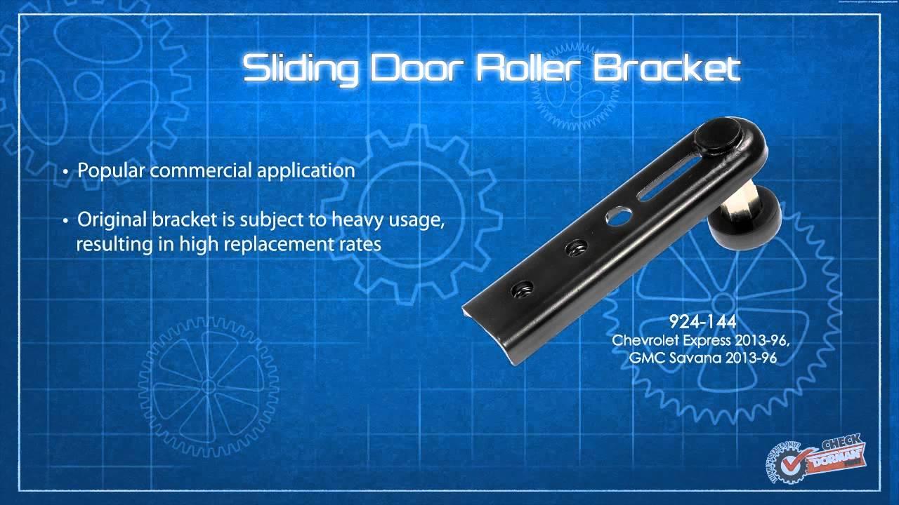 Dorman 924-144 Passenger Side Sliding Door Roller Bracket