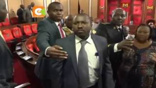 Chaos at Machakos County Assembly as Mutua's ouster motion tabled