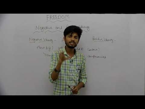 Freedom _ Part7 _ Negative & Positive Liberty _ Rishabh Jain