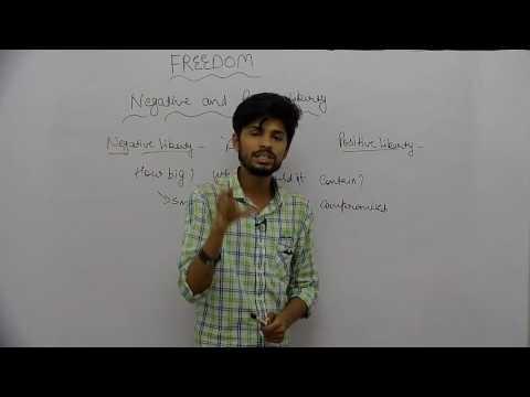 Freedom _ Part7 _ Negative & Positive Liberty _ Rishabh Jain