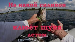 На какой силикон клюёт щука в июне и июле Ловля щуки на спиннинг с лодки Рыбалка на щуку