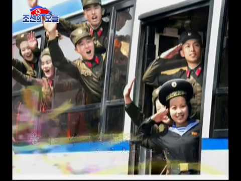 [DPRK Song] Far To The Frontline!
