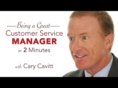 Customer Service Training: Be a Great Service Manager in 2 Minutes